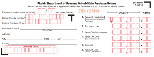 FL DR-15MO; FLORIDA USE TAX RETURN; AMAZON SALES TAX FLORIDA; FLORIDA SALES AND USE TAX; FLORIDA SALES TAX AUDIT; FLORIDA SALES TAX ATTORNEY